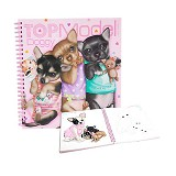 TOP MODEL Doggy Colouring Book [TM 6659] - Journal/Planner